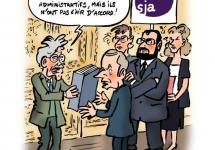 Réforme HFP - grève des magistrats administratifs